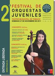 2° Festival de Orquestas del Teatro Municipal de Temuco, Organizado por la Fundación de Orquestas Juveniles e Infantiles de Chile