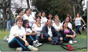 Masiva participación de villarricenses en Polideportivo Comunal 2011