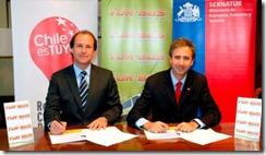 """En el marco de la campaña """"Chile es Tuyo"""": Tur Bus y Sernatur firman acuerdo para potenciar el turismo nacional"""