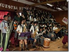 70 alumnos de Ercilla ofrecieron muestra musical de flauta
