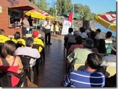 Municipio y vecinos lanzaron temporada de verano en Licán Ray