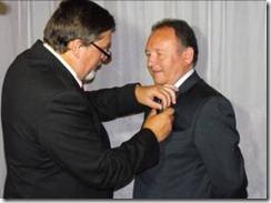 Senador García Ruminot distinguido como socio honorario
