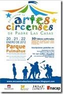 2ª encuentro de artes circenses en Padre las Casas