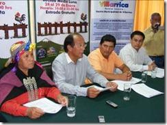 Unión Comunal y alcalde Astete dieron el vamos oficial a la Muestra Campesina Villarrica 2012