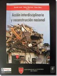 Universidad Autónoma de chile entrega libro sobre reconstrucción post terremoto al intendente de la Araucanía