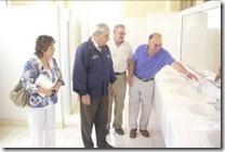 Seremi de Educación y autoridades visitaron obras concluidas en el Complejo Educacional Luis Durand