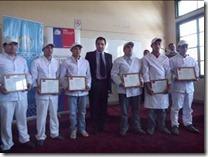 Capacitan a 11 internos del Centro Penitenciario de Temuco como ayudantes de cocina