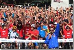 Temuco nuevamente protagonizó masiva cicletada con el Tour IND