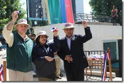 Seremi de Salud y Municipalidad de Temuco inauguran solmáforo en plaza Aníbal Pinto