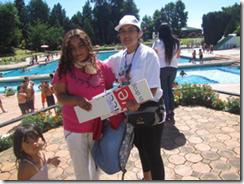 """Senda Araucanía lanzó campaña """"Decide tu verano"""" en piscina municipal de Temuco"""