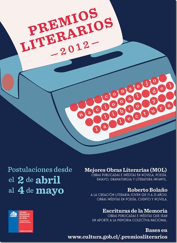 Afiche_Premios_LiterariosCNCA