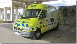 Ambulancia SAMU Avanzada 003
