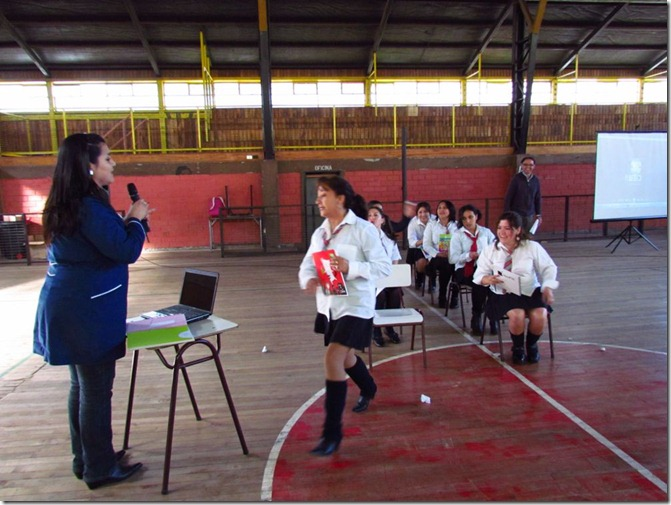 Profesores prepararon actividades para sus alumnos (1)
