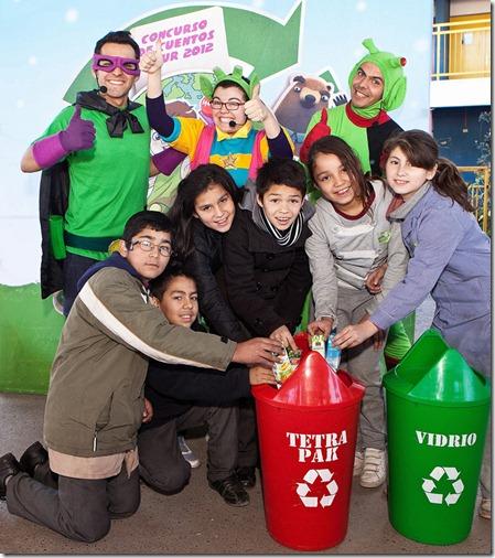 Campaña infantil de Educación Ambiental Alimenta Tu Imaginación_
