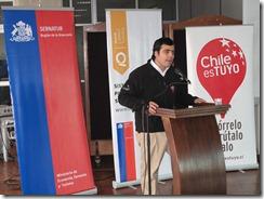 Director Regional de Sernatur Araucanía, Sebastián Álvarez.
