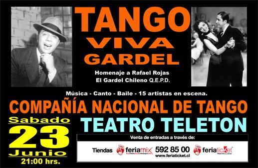 Mailing TANGO Feria Ticket