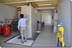 Microturbina Universidad de la Frontera - Temuco