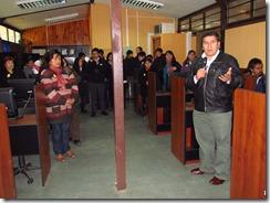 Millonario proyecto de inaugura en Liceo Municipal de Curarrehue