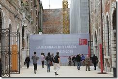 Foto general de la entrada a la bienal