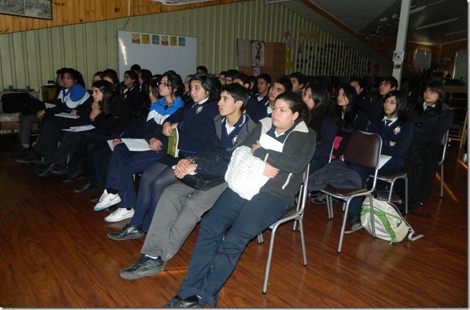 Charla Colegio San Francisco de Asís Angol 6