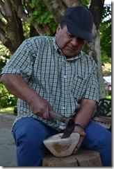 Oscar Huaiquimil maestro artesano 2012