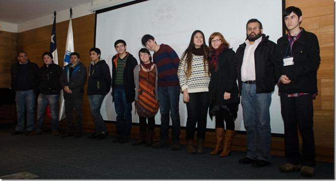 Algunos participantes de la Escuela de Invierno