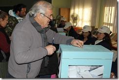 Votacion Alcalde
