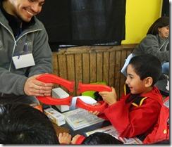 Ciencia itinerante Colegio Adenauer de Melipeuco 5