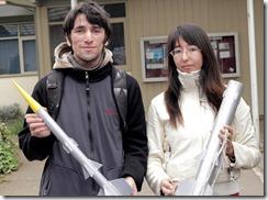 Estudiantes UFRO crean cohete