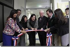 Corte de cinta inauguración CSC