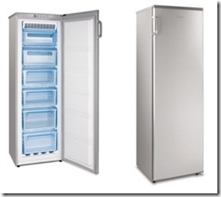 Freezer Vertical No Frost  mabe