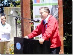 Andrés Molina, Intendente Regional de La Araucanía