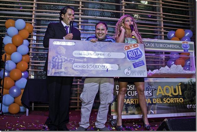 Luis Cofré (Pucón) - Ganador 5 millones