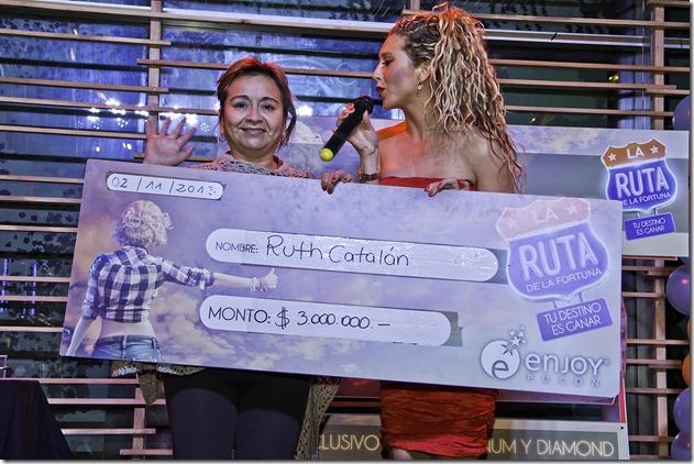Ruth Catalán (Pucón) - Ganadora 3 millones