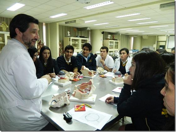 Taller de Anatomía Colegio Montessori 1