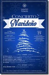 Afiche Concierto Navidad