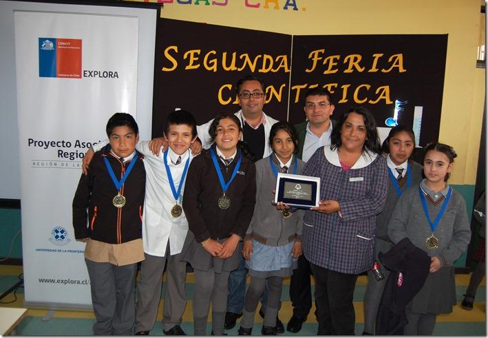 Feria 2ª Feria Escolar de Ciencia y Tecnología para Niños y Niñas de Establecimientos Educacionales de Temuco 1