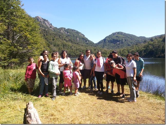 Niños de Coinves conocieron el Parque Nacional Villarrica (1)