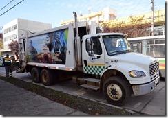 Camión recolector