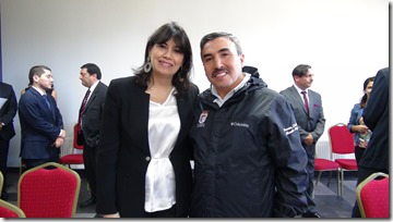 ALCALDE Y MINISTRA DEL TRABAJO