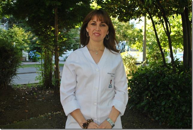 Lissete Mendoza, docente Escuela Enfermería U. Mayor