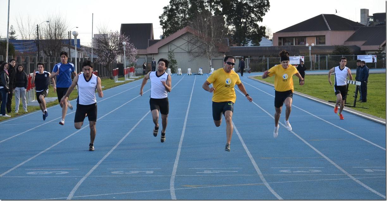 Final 100 metros planos varones