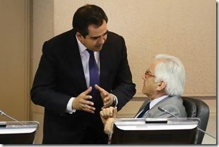 Senador con Mario fernandez