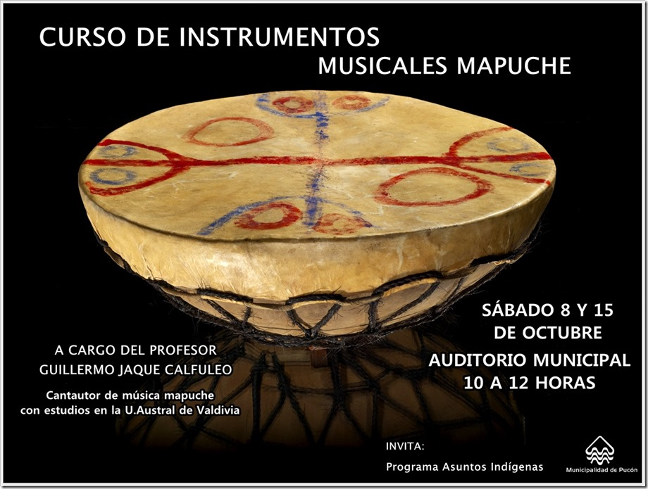 177322.000 Mapuche kultrung, or Mapuche shaman's drum, ca. 1920, Chile. This kultrung, or Mapuche  shaman's drum, dating to ca. 1920 was used during large public rituals performed at earthen mounds. Held vertically, it's desgins depict the Mapuche cosmos. It is the focal object for the Tierra del Fuego region.