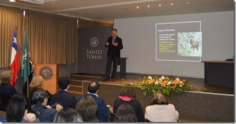 Expositor Fernando Vidal, Fundación Huilo Huilo