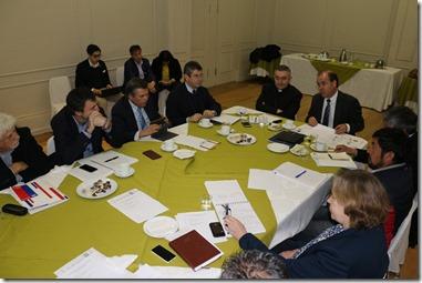 Ministro Undurraga Mesa Asesora Presidencial La Araucanía 2