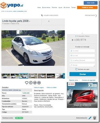 Toyota Yaris IX Región