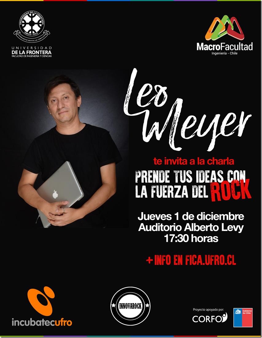 Afiche Charla Leo Meyer