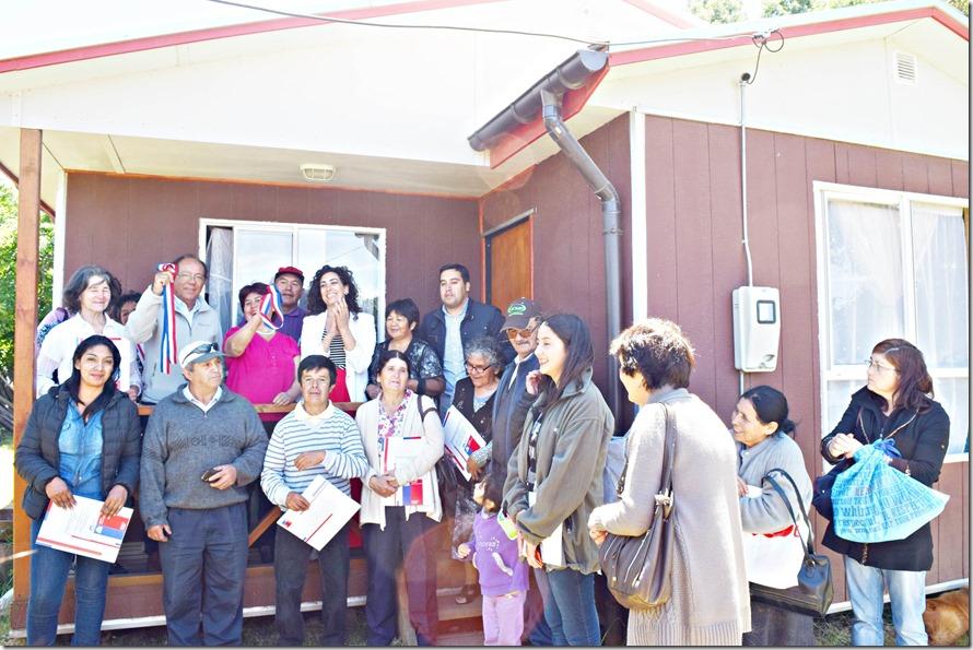 Comité La Gran Esperanza Rural recibe sus viviendas (1)