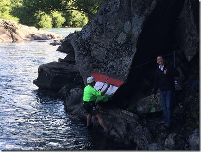demarcación rio trancura